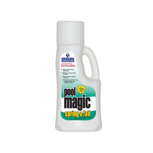 1 Liter Ltr 33 9 Ounce Oz Natural Chemistry Pool Magic