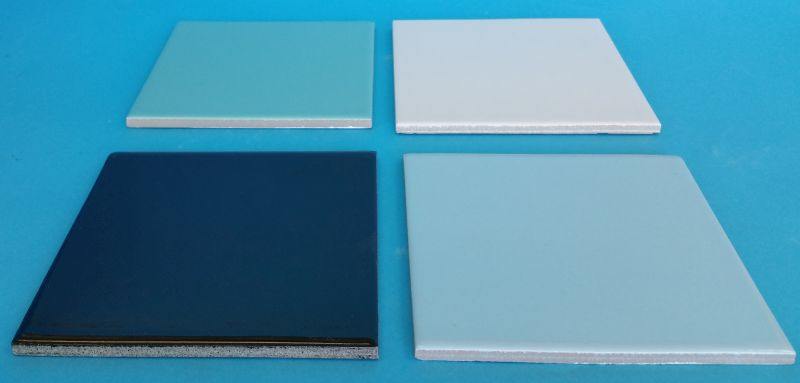 6 x 6 Inch (in) Frost-Proof Flat Pool Tiles