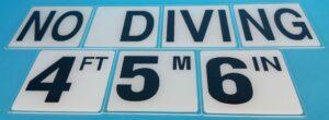 Glass Overlay Depth & Safety Marker Tiles