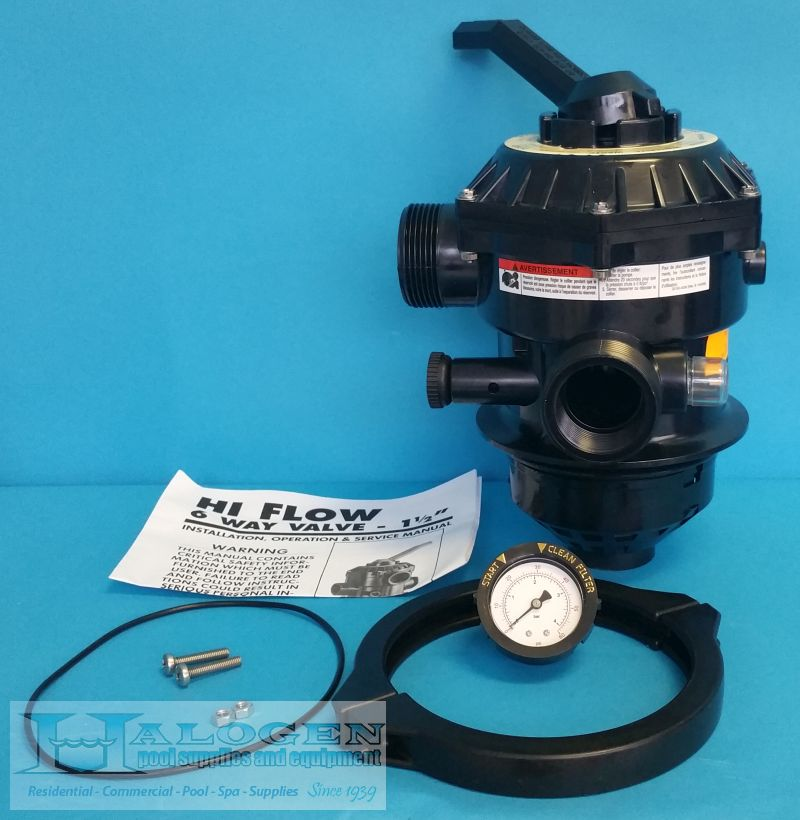 Pentair Pac Fab Tagelus Sand Filter 6 Way Clamp Style