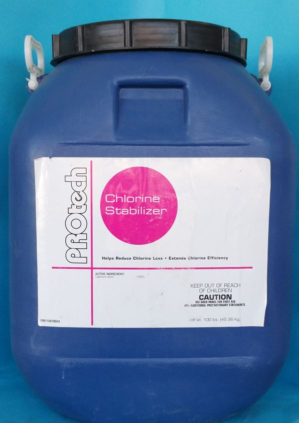 100 pound lb drum hal sta pool conditioner or - What is swimming pool conditioner ...
