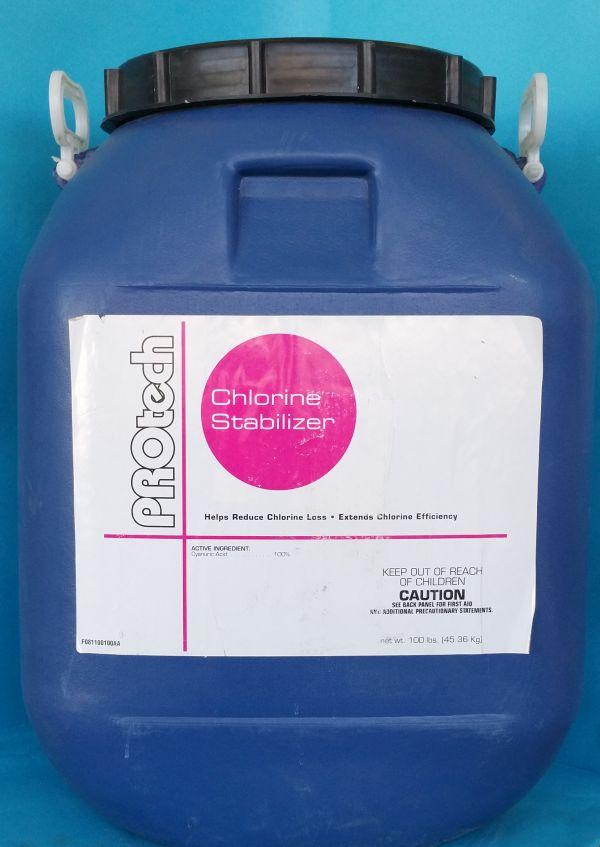100 Pound Lb Drum Hal Sta Pool Conditioner Or Stabilizer Halogen Supply