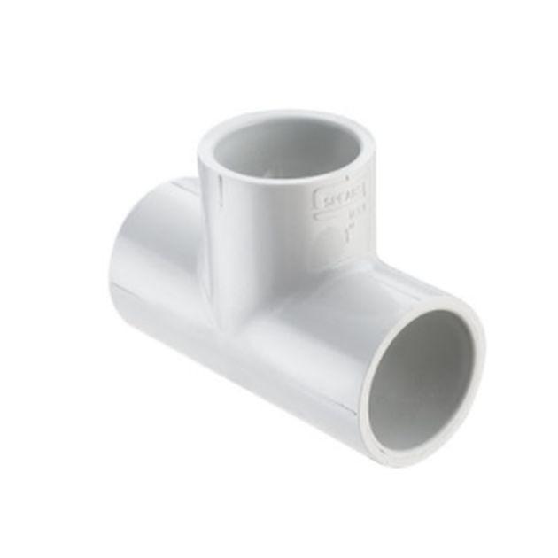 Schedule 40 PVC Plumbing Tee's