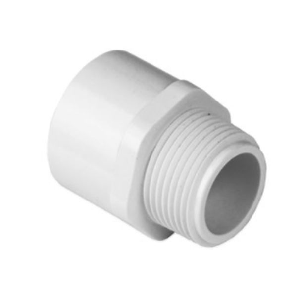 Schedule 40 PVC Plumbing Male Adapters