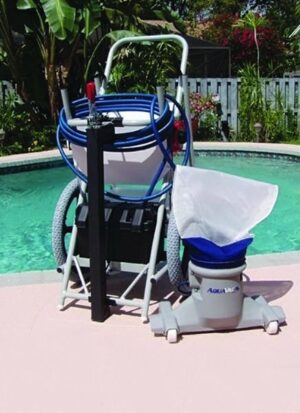 Hammer Head Battery Powered Pool Cleaning Machines