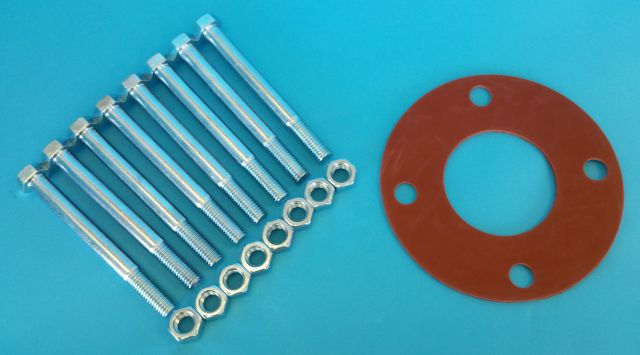 Pool Valve Bolt Kits & Flange Gaskets