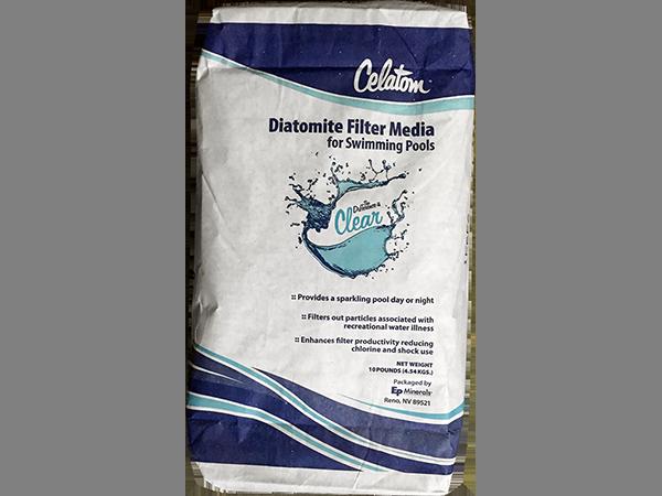 Diatomaceous Earth 10 Pound (lb) Bag | Halogen Supply