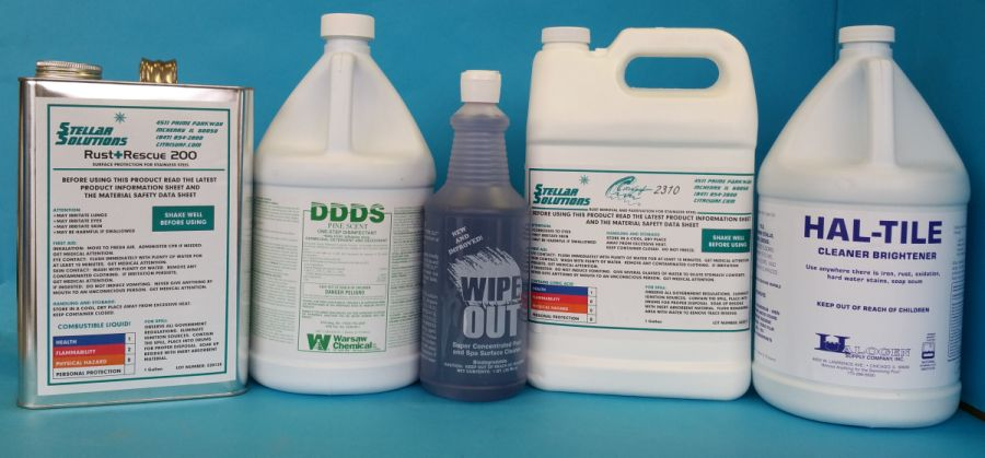 Pool & Spa Cleaning Products