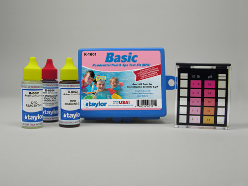 Taylor Dpd Test Kit For Residential Pool Amp Spa Testing