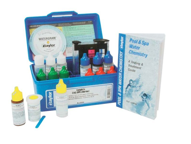 Water Test Kits & Thermometers