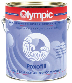 Olympic Pox-O-Fill Concrete Patching Epoxies