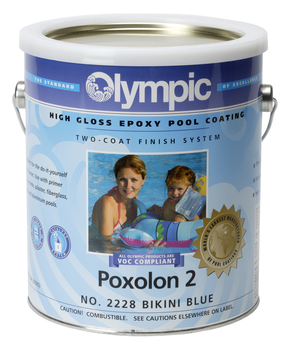 Olympic Poxolon High Gloss Pool Coatings