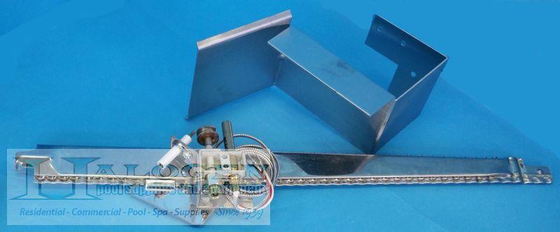 Main Burner Assembly Natural Gas Pilot Halogen Supply