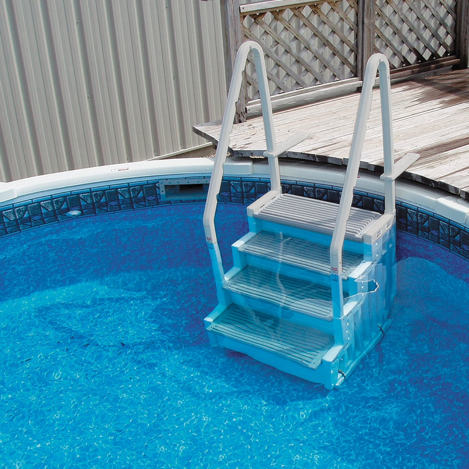 Confer Step Above Ground Swimming Pool Step System Halogen Supply
