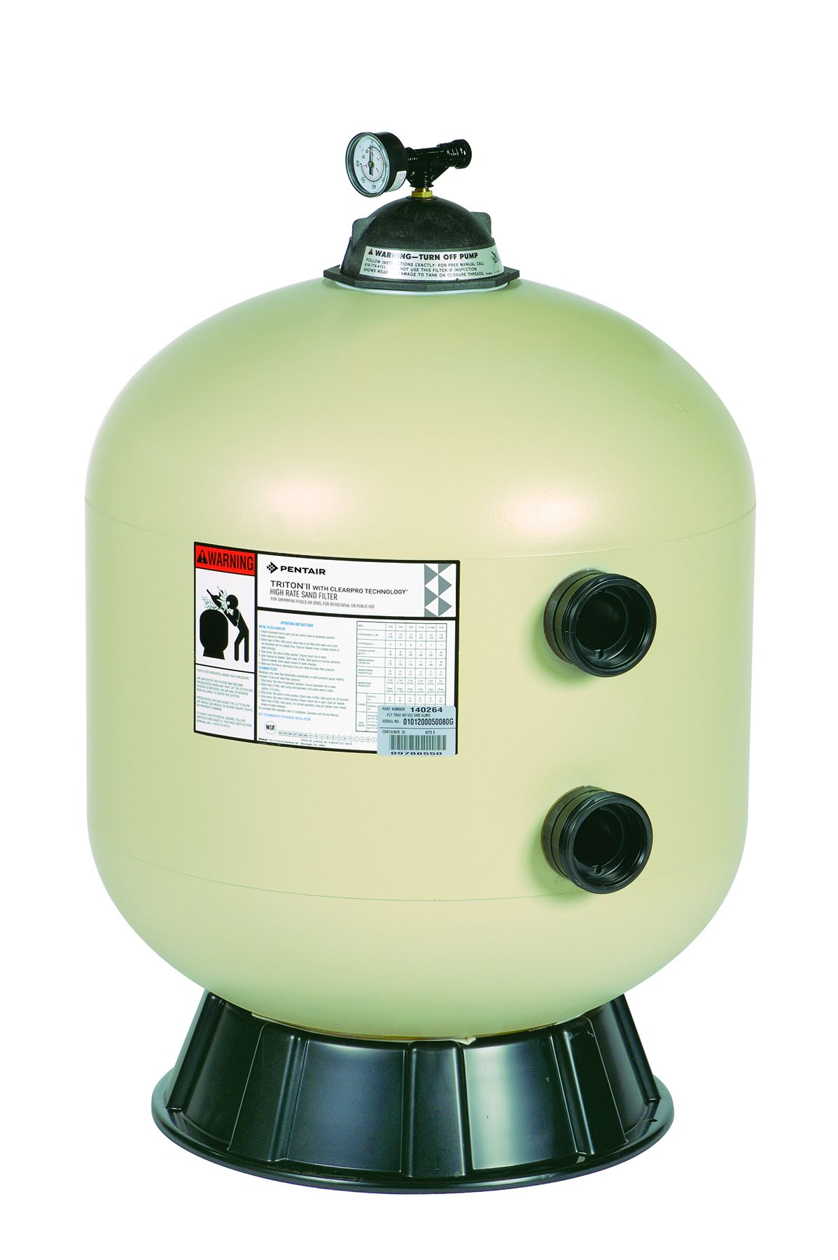 Tr 60 Triton Commercial Pool Sand Filter Halogen Supply