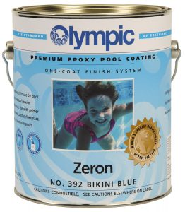 Olympic Zeron One-Coat Epoxy Pool Coatings