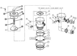 261055 (SM2-PP3) Multiport Valve Replacement Parts