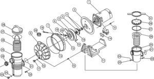 Pentair Challenger Pump Parts