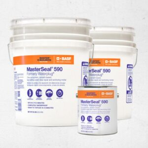 MasterSeal 590 Thoro Waterplug Mortars