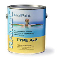 "Ramuc Enamel Type ""A-2"" - Premium Rubber Based Pool Paint"