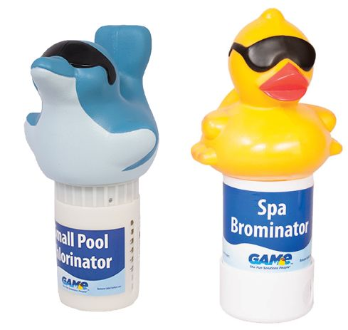 Floating Pool Chemical Dispensers