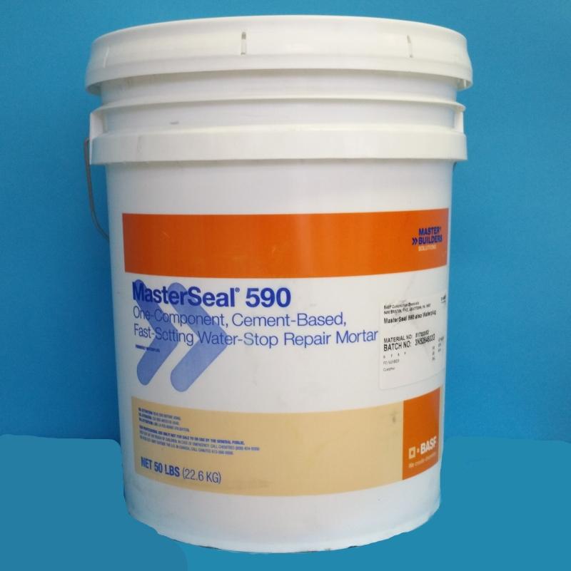 MasterSeal 590 Thoro Waterplug Mortars
