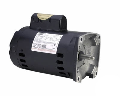 2 Speed Square Flange Pool Pump Motors