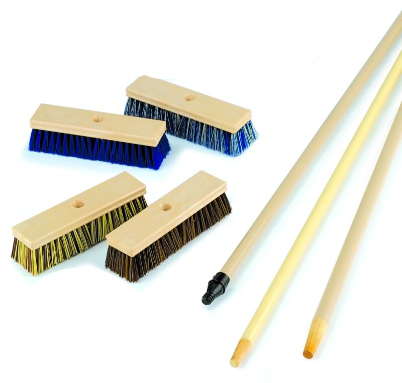 Acid Washing Brushes & Deck Squeege