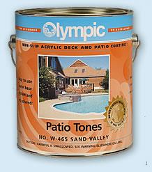 Olympic Patio Tones Deck Paints