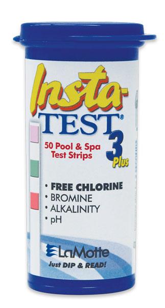 Lamotte Insta Test 3 Pool Test Strip Halogen Supply