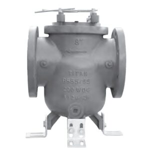 Titan Cast Iron In-Line Commercial Pool Basket Strainers